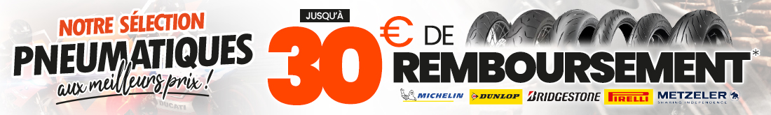 Offres pneus juin 2021 - jusqu'à 30€ de remboursement